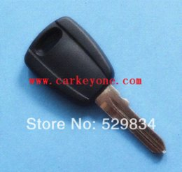 Wholesale Transponder Key Blanks Shell - Best Quality 1PC Fiat transponder key shell black car key blank M39494 Alarm Systems & Security Cheap Alarm Systems & Security