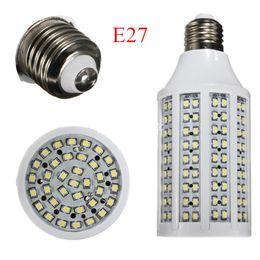 Wholesale E27 17w - E27 17W 3528 SMD 216 LED Energy Saving Corn Lights Bulb Lamp Pure White Warm White 220V Free Shipping