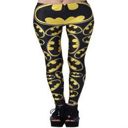 batman leggings UK - Rugby Pants 3D Digital Printed Trousers Batman Sports Pants Yoga Pants Quick Dry Jogging High Waist Leggings Pant