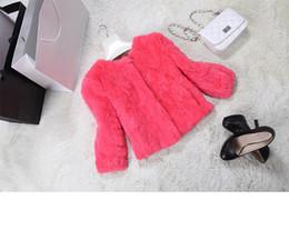Wholesale Wholesale Rabbit Fur Jackets - Ms. 2015 new winter long-sleeved lazy rabbit imitation leather jacket short paragraph Korean version of Slim thin wool sweater woman