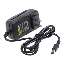 Wholesale 12v 2a Dc Charger - AC 100-240V to DC 12V EU USPlug DC 2A Power adapter charger Power Supply Adapter 3528 transformer for Led StripsLights