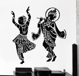 Wholesale God Wall Decal - 2016 Buddha Dance Indian Hinduism Wall Sticker Home Decor Wall Decal Elephant Ganesh Buddhism India Indian Namaste Buddha Om Yoga God