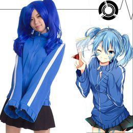 Wholesale project games - Kagerou Project MekakuCity Actors Ene Takane Enomoto Hoodie + Skirt cosplay Jacket Uniform Cosplaycosplay costume two-piece set