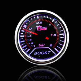 """Wholesale Smoke Gauges - Car Universal Smoke Len 2"""" 52mm Bar Turbo Indicator Boost Bar Gauge Meter"""