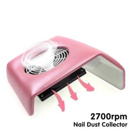 Wholesale Suction Plug - plug 220v Pink 220V Nail Art Salon Suction Dust Collector Manicure 2700Rpm Filing Acrylic UV Gel Tip Machine Vacuum Cleaner Tool EU Plug