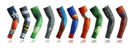 Wholesale Cycling Cycle Arm Warmer - Wholesale arm sleeve Cycling Printed Armwarmer MTB Bike Bicycle Sleeves Arm warmer UV Protection Sleeves Ridding Arm Sleeves