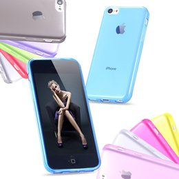 Wholesale Iphone 5c Cases For Cheap - Cheap Cool Ultra Thin Transparent TPU Soft Case For Apple iphone 5C Clear Crystal Slim Protective Back Cover For Iphone 5C