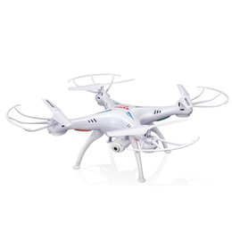 2019 helicóptero solo Quadcopter sin cabeza del drone FPMA RC SYMA X5SW con cámara WiFi 2.4G Helicóptero cuádruple medio de 6 ejes Medio Modelo DHL gratuito OTH146