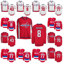 Wholesale Capital Names - S-5XL Washington Capitals Jersey Mens Womens Youth Customized with any name & number Personalized Hockey Jerseys 100% Stiched