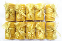 Wholesale Home Wax - Natural Bee Wax Candle Healthy Environmentally Friendly Candle Home Decoration Creative Gift