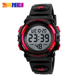 Wholesale Famous Electronics - Mens Sports Watches Famous Brand Luxury Men's Military Army Watch Digital LED Electronic Waterproof Men Wristwatches Male Skmei 02