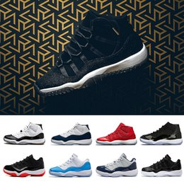 Wholesale Cuttings Box - With Box 11 PRM Heiress Black Stingray Gym Red WIN LIKE 82 96 Space Jam 45 Men Basketball Shoes 11s Athletic Sport Sneakers