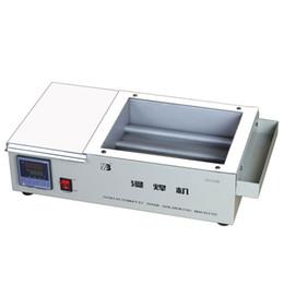 Wholesale Tin Solder Pot - ZB2520B semiautomatic soak soldering machine for bag rework station solder pot soldering tin stove