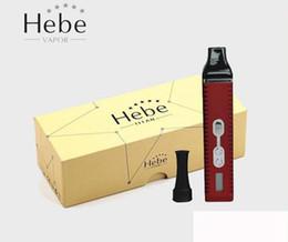 Titani asciutto online-Titan 2 Dry vape penne Kit 2200mAh LCD mod Batteria e vaporizzatore secco a base di erbe DHL Free Shipping