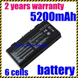 Wholesale Laptop Battery Cells Price - High quality- HOT- [Special Price] New 6 Cells laptop battery for Asus X51H X51L X51R X51RL T12b T12C T12Er T12Jg T12Mg A32-X51 A32-T12 A32-