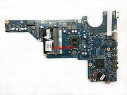 Wholesale Motherboard For Hp Pavilion G7 - For HP Pavilion G4 G6 G7 654118-001 DAR18DMB6D1 I3-370M CPU DDR3 Laptop Motherboard Mainboard Working perfect
