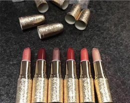 Wholesale Easy Ball - Stock Selling High Quality Snow Ball Lipstick 6 Colors Matte Lipstick Holiday Crush Elle Belle Shimmer Spice Glitening 3g 60pcs