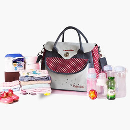 Wholesale Baby Ladies Diapers - Multifunctional bolsa maternidade baby diaper bags baby nappy bag mummy maternity bag lady handbag messenger bag diaper shoulder