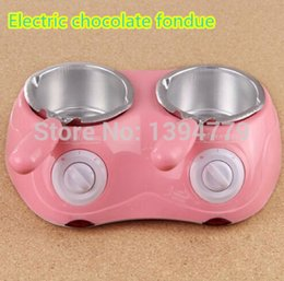 Wholesale Hot Sale Electric Chocolate Fountain Fondue Hot Chocolate Melt Pot melter Machine A3
