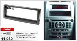 Canada CARAV 11-030 Top Qualité Radio Fascia pour PEUGEOT (407), (407) Coupé / CITROEN C5 Stéréo Fascia Dash CD Trim Kit d'installation Offre
