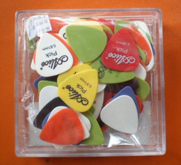 Wholesale Wholesale Acoustic Bass Guitar - New 30pcs lot Bass Guitar Picks Alice Multi Smooth ABS Custom Acoustic Electric Guitarra Plectrums Accessories Musical Instrument Puas