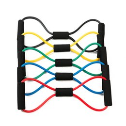 Wholesale Pc Shelf - 1 Pc Resistance Bands Yoga Supplies Pull Rope Spring Exerciser Chest tube Durable Tensile Strength Training Tension Shelf