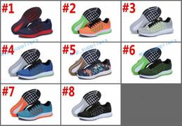 Chaussures en gros cadeaux de noël en Ligne-Cadeau de noël 2017 Nouvelle arrivée 7 Couleur ZOOM PEGASUS 32 Chaussures pour hommes, Wholesale pas cher chaussures de course taille 36-45