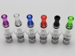 Wholesale Vaporizer Bulb For Ego - Bulb Atomizer eGo Clearomizer Globe Glass Pyrex Glass for eGo t Battery Dry Herb Wax Vaporizer Free Shipping to United States
