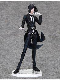 Wholesale Sebastian Anime - Anime Black Butler Kuroshitsuji Sebastian Action Figure Model Collection Toy