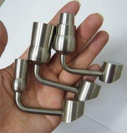 керамическое покрытие Скидка Высокое качество 90 градусов мед ведро Титана ногтей 1418 мм Титана ногти с мужской женский сустав против керамические ногтей кварцевые ногтей Enail стеклянные бонги