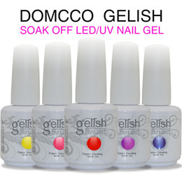 Wholesale gel polish soak - 12pcs High Quality Gel Nail Polish Soak Off LED UV Polish Lacquer