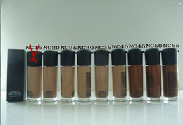 Wholesale Nc Foundations - factory deirect ! dhl free shipping NEWest MAAA+ quality makeup nc matchmaster 35ML liquid foundation