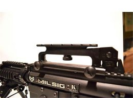 Wholesale Carry Handle Weaver - 2015 new arrival See-Through Carry Handle weaver Rail Scope Mount Base epacket China post hongkong post shipping