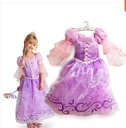 Wholesale Ice Queen Costumes - 2015 Retail White Snow Of Queen Ice Princess Sofia Anna Elsa Dress Kids Party Girls Costume,Children's Clothing Girl Dress