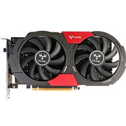 Tarjeta de video nvidia ddr5 online-Colorido GTX 1050Ti Tarjeta gráfica NVIDIA GeForce iGame GTX1050Ti GPU 4GB GDDR5 128bit PCI-E X16 3.0 Tarjeta de video para juegos Escritorio