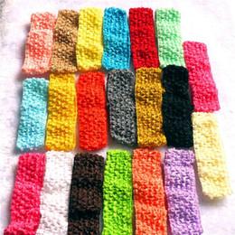 "Wholesale Wide Crochet Elastic - Baby Girls 4CM Wide Nylon crochet headband Children baby DIY soft Elastic band girls Kids 1.57"" Headbands High quality Free Shipping KHA57"