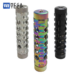 Wholesale Ar Free - AR MOD Newest Mechanical MODS Clone Black Stainless Rainbow AR Mods ecig Vape Mechanical Mod DHL Free Shipping