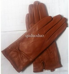 Wholesale Leather Opera Gloves Sale - ON sale ! Real Sheepskin Leather Gloves women fashion gloves free shipping