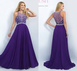 Wholesale Cheap Shiny Pageant Dresses - Fashion Long Bridesmaid Dresses With Sequins Crystals Sparked Shiny Prom Sweet Design Cheap Party High Quality Formal Pageant Gown Modest