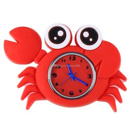 Wholesale Children Analog Wrist Watch - New Arrival 2016 Hot Models Ocean Animal Series Slap Watch Cute Animal Cartoon Slap Snap Watch Silicone Wrist Watch for Children Gift