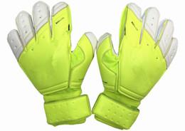 Wholesale Real Finger - Hot Sell Soccer goalkeeper gloves Goalie Soccer Bola De Guantes Futbol Luvas De Goleiro Futebol Reusch