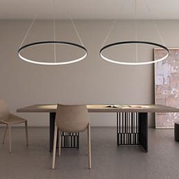 Wholesale Black White Kitchen Knobs - Free shipping LED 80cm 30W Pendant Light Modern Design  LED RingSpecial for office,Showroom,Living Room 110-240v