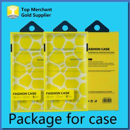 Wholesale Plastic Packaging For Mobile Phones - Universal Mobile Phone Case Package PVC Plastic Retail Packaging Box with Inner Insert for iPhone Samsung HTC Cell Phone Case Fit 5.7 inch