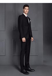 Wholesale Thick Satin Wedding Dresses - 2 Piece Suits Men British Latest Coat Pant Designs Royal Blue Mens Suit Autumn Winter Thick Slim Fit Plaid Wedding Dress Tuxedos