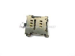 Wholesale One Sim Card Cell Phones - Wholesale-Free shipping SIM Card Reader Holder Slot Contact Flex Ribbon Cable Replacement for HTC One M7 Cell Phone Replacement Part