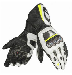 Wholesale Long Waterproof Gloves - Titanium long leather gloves Knight anti-drop racing motorcycle gloves