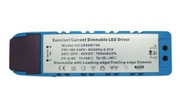 Wholesale Power Supply Constant Current - 20-42V DC 700MA Constant Current Dimming Led Driver Power Supply For 20W High Power Led Light