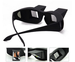 Wholesale Lazy Glasses - 100pcs Horizontal Reading TV Sit View Glasses On Bed Lie Down Bed Prism Spectacles The Lazy Glasses #001