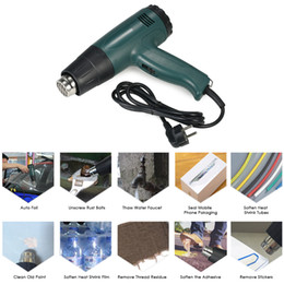 Wholesale High Quality Solder - 1800W AC220V Electric heat gun High Quality hot air gun Temperature-controlled hot gun soldering Hair dryer with 4pcs Nozzles