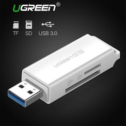 Wholesale Adapter Sd Mini - USB 3.0 Card Reader SD Micro SD Mini Smart Card Reader Max 256GB Memory Card Reader All in One USB SD Adapter